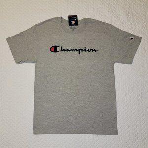 Champion Mens Gray T-Shirt - Medium - New With Tag